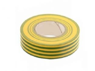 Connect 30378 Green & Yellow Insulation Tape 19mm x 20m Pk 10